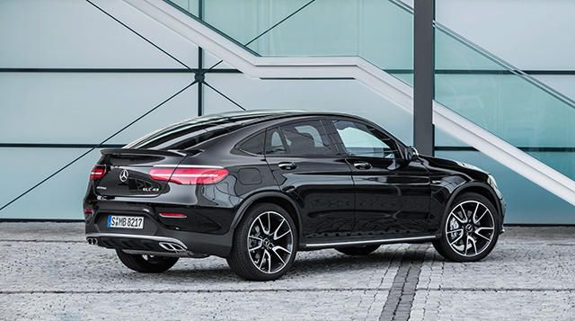 The New Mercedes Amg Glc 43 4matic Coupe Con Imagenes