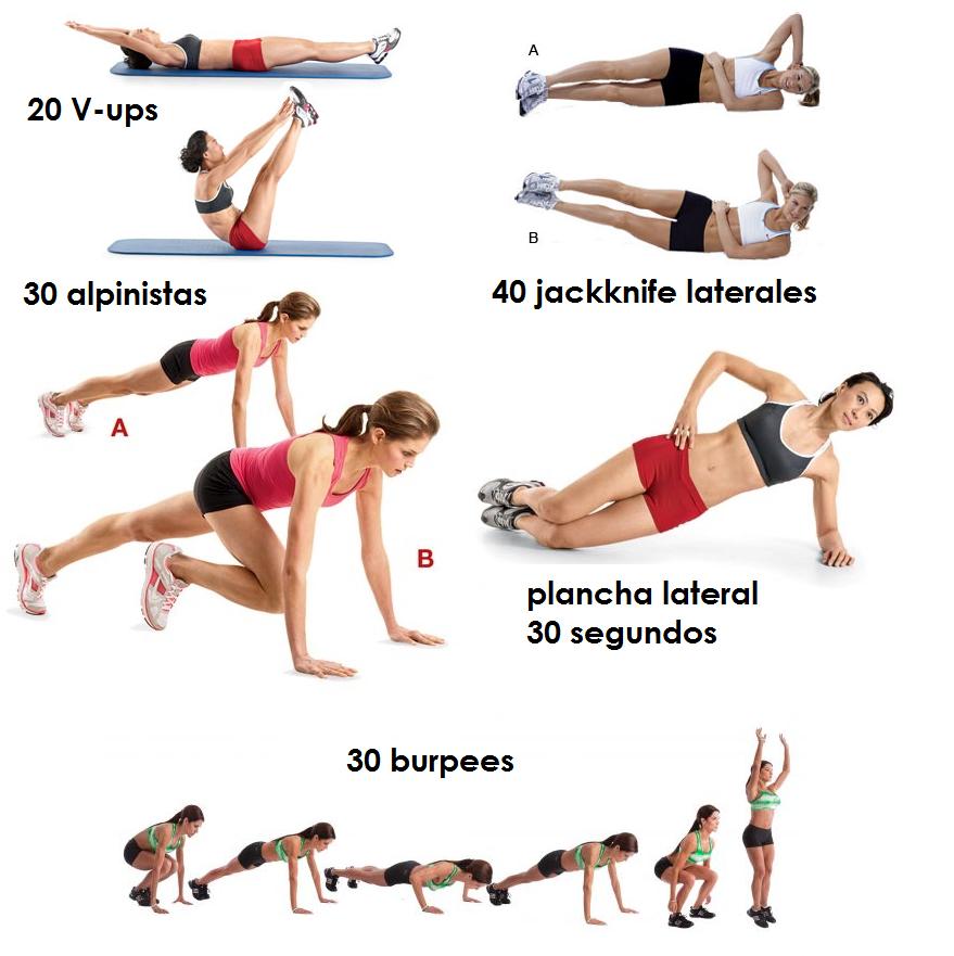 Pin by yahira on s e pinterest workout for Tabla de ejercicios para adelgazar