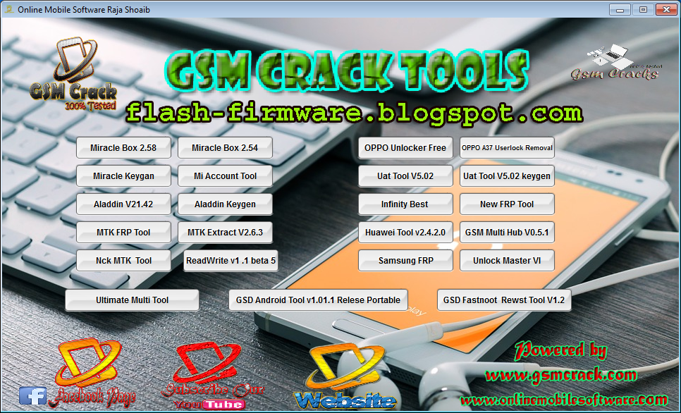 DownloadALL In One Gsm Crack Tool Feature: Miracle Box 2 58 With Key