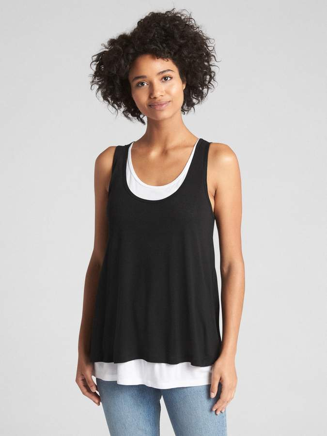 b8c6c89481ebd Maternity Double-Layer Nursing Tank Top in 2018 | Products ...
