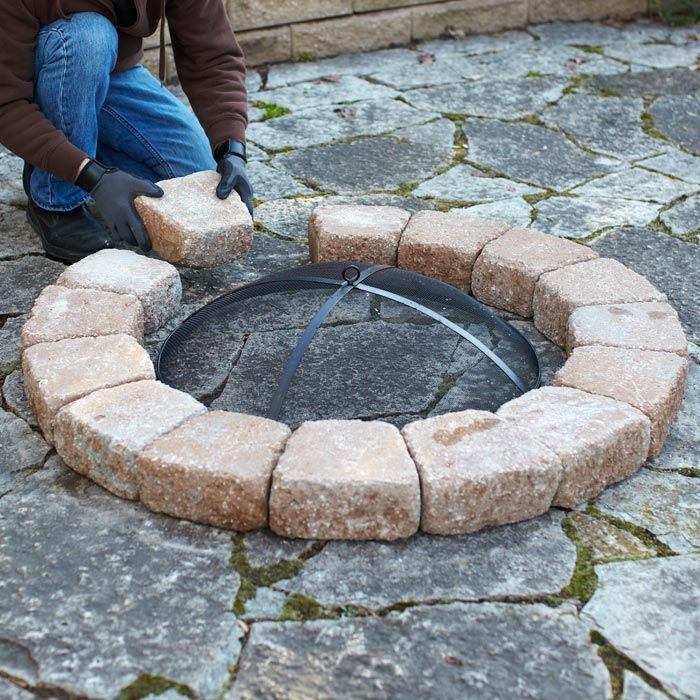 How to Build a Fire Pit Gazebo with fire pit, Diy fire