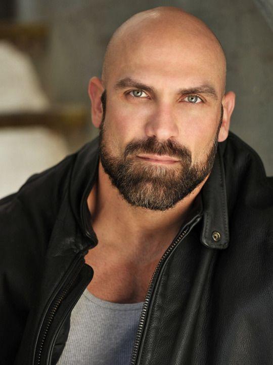 Hyper Masculine Bald Men Bald With Beard Beard Styles