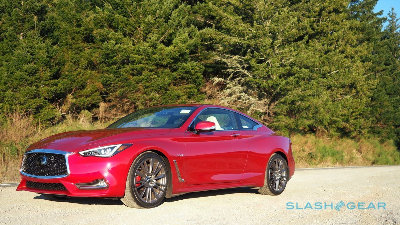 2017 Infiniti Q60 Red Sport 400 Review SlashGear