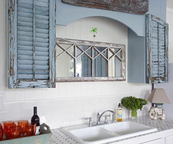 Cottage Style, Sinks And Window