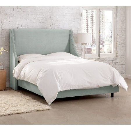 Swoop Wingback Bed Skyline Furniture With Images
