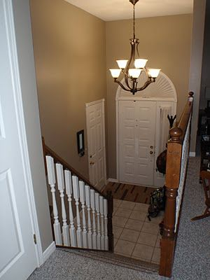 New colour on the walls is Rocky Road by Benjamin Moore  by