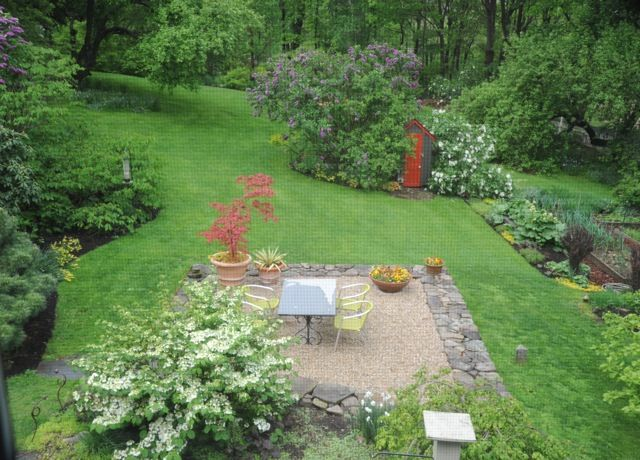 look out the window garden design 101 Pinterest Patios, Gardens