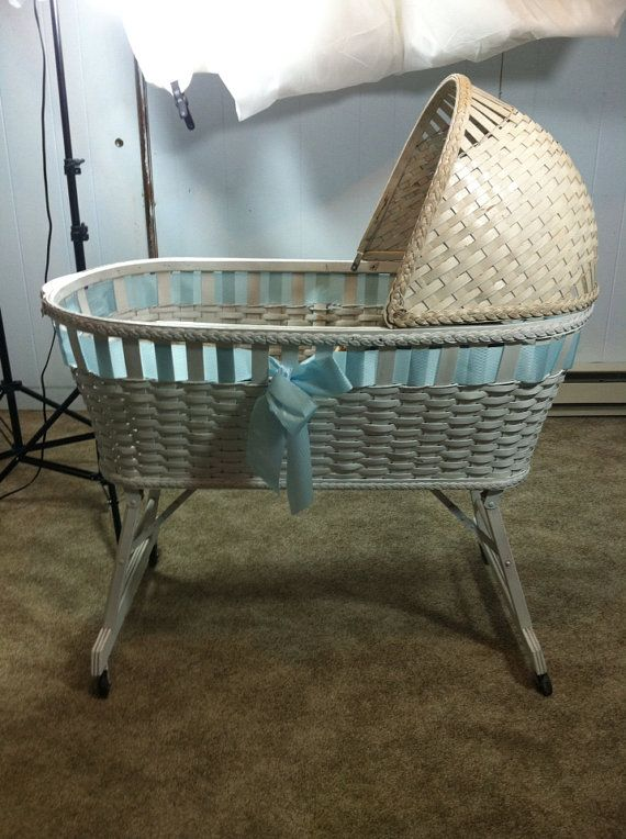 Vintage Baby Bassinet Baby Oh Baby Baby Cribs