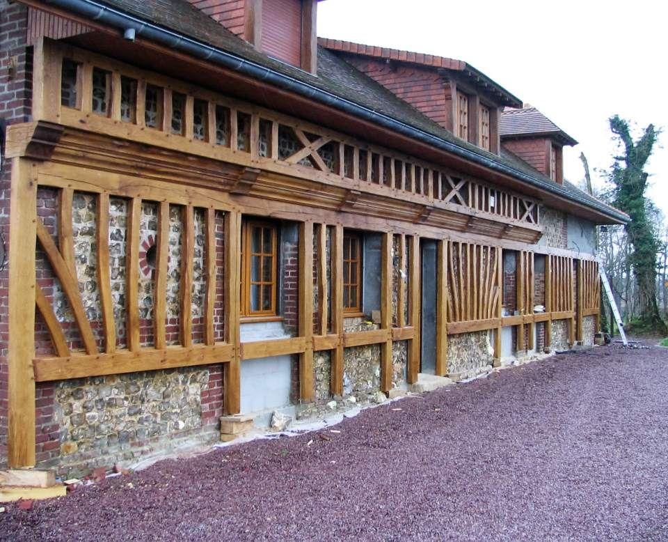 R novation facade colombage l 39 entreprise de menuiserie et for Entreprise renovation facade