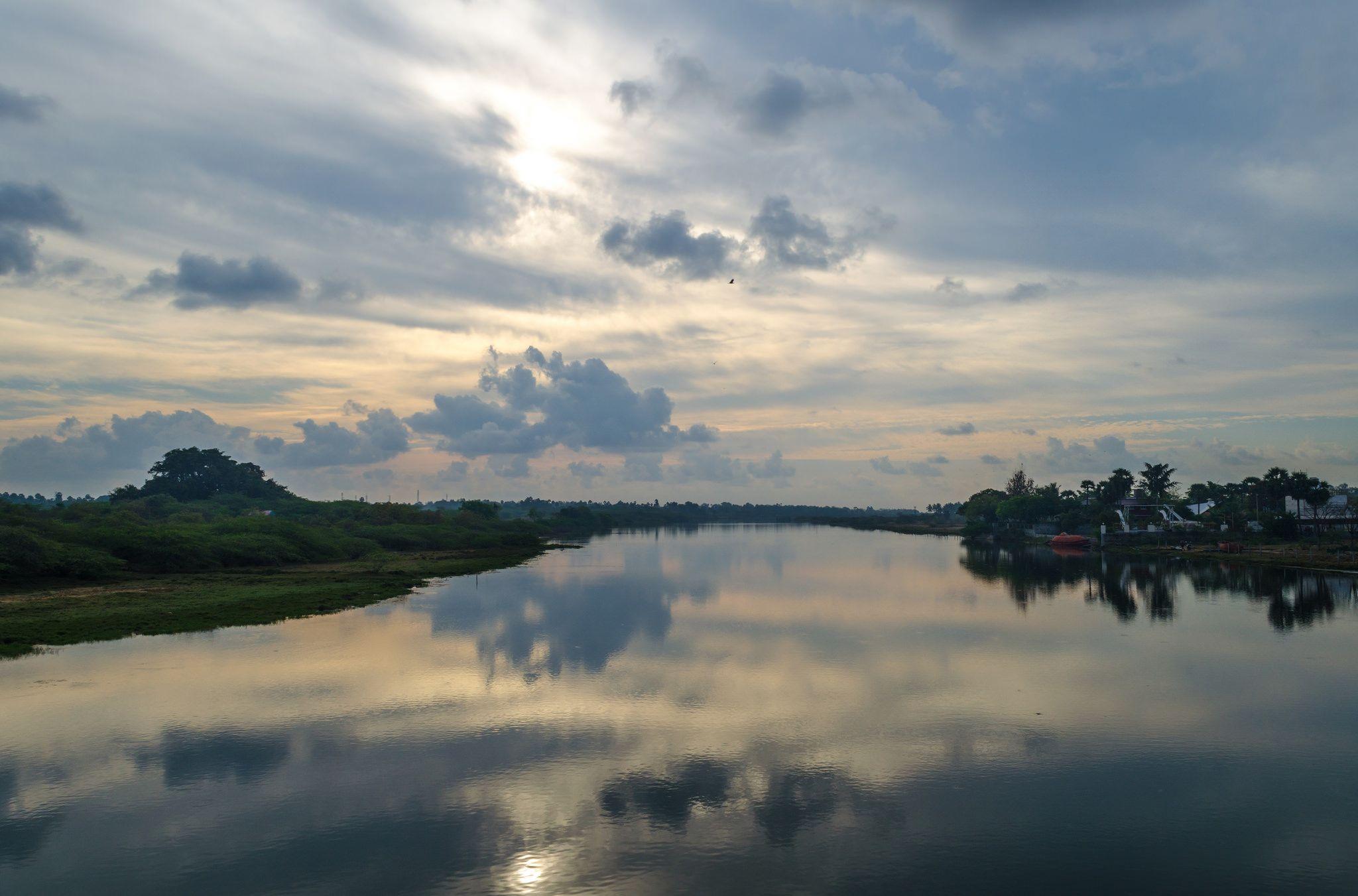 https://flic.kr/p/DH9MVj | Waterscapes | Waterscapes at Marakanam , Tamilnadu, India