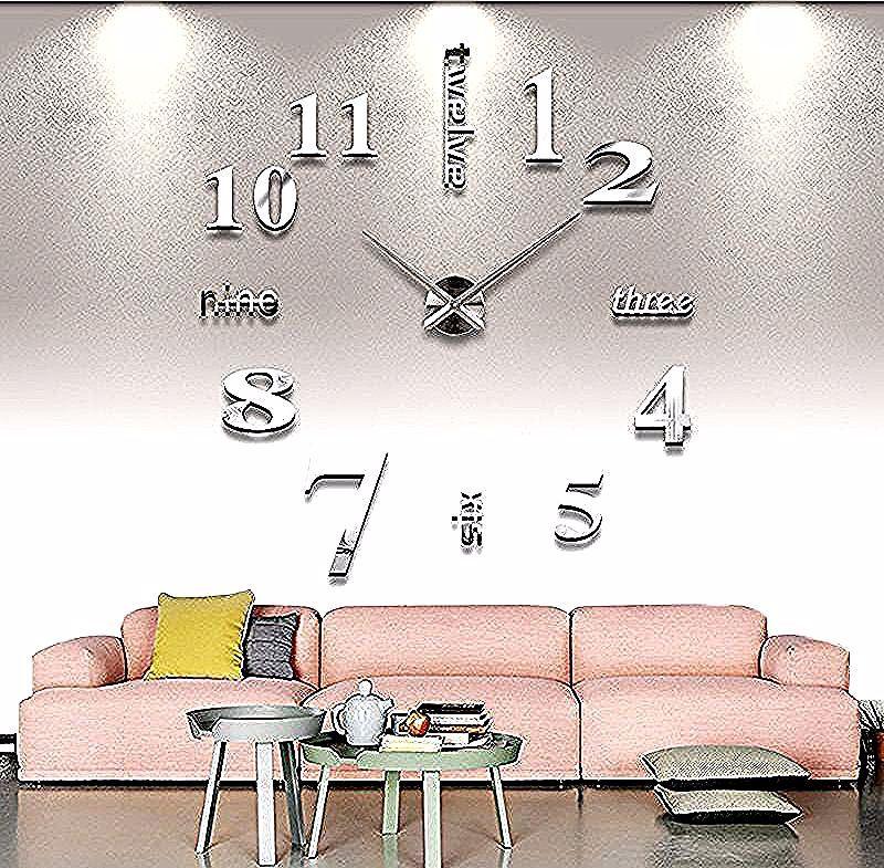 Montres En Miroir Clock Color Metal