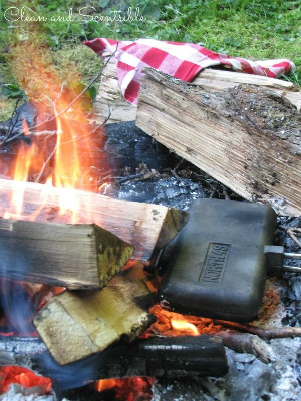 Campfire Chocolate Monkey Bread