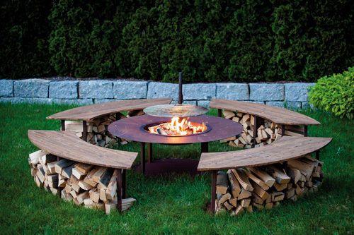 Feuerlicht Grill Sitzbank Stuhle Sessel Rost Garten Deko Feuerstelle Garten Feuerschalen Garten Feuerstelle