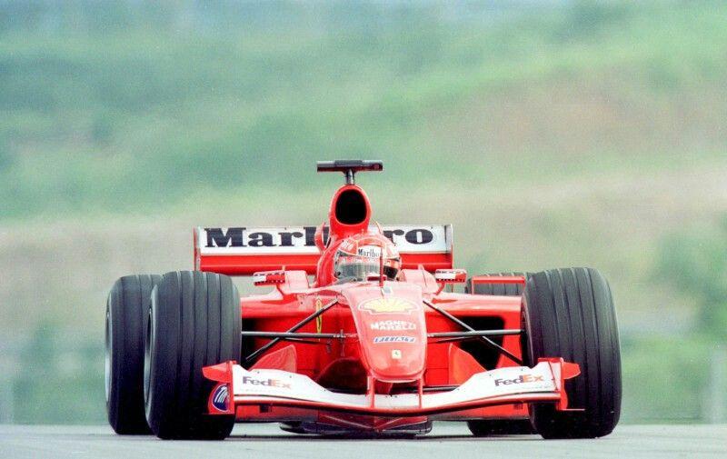 FERRARI  F2001                                                     Tipo050-V10                                           Michael Schumacher