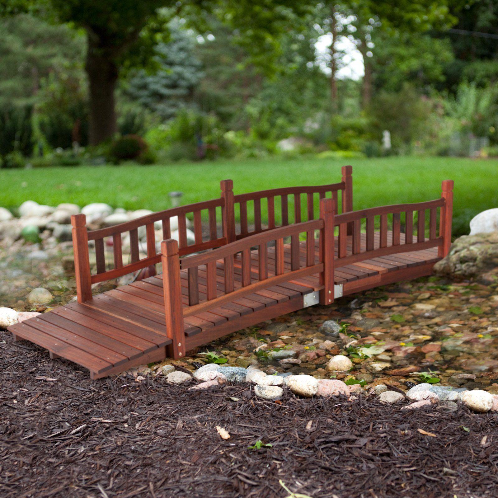 How To Build Wooden Bridge | Cedar Bridge Shop. Com Garden Bridges 4 52ft.  Long | Wedding | Pinterest | Bridges, Bridge And Gardens
