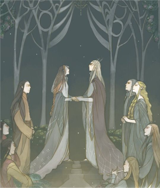 The Story of Thranduil, Legolas and his wife Part 3