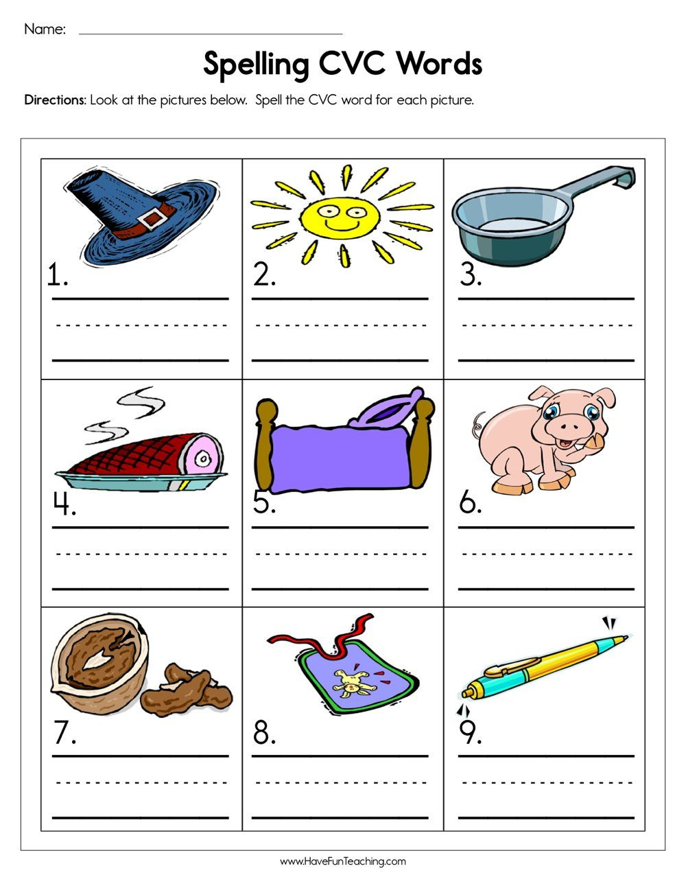 Spelling Cvc Words Worksheet Cvc Words Worksheets Spelling Cvc Words Cvc Words [ 1294 x 1000 Pixel ]