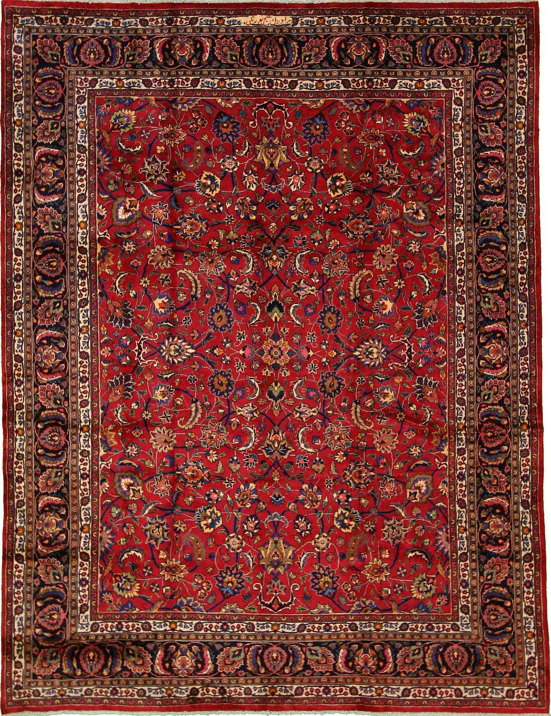 Red 9 X 12 10 Mashad Rug Persian Rugs I Want For The