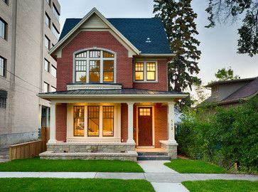 Peaceful design brick house designs custom designed calgary infill homes marre crescent heights showhome front exterior in kenya australia india  also best for the home images doors merry christmas windows rh pinterest
