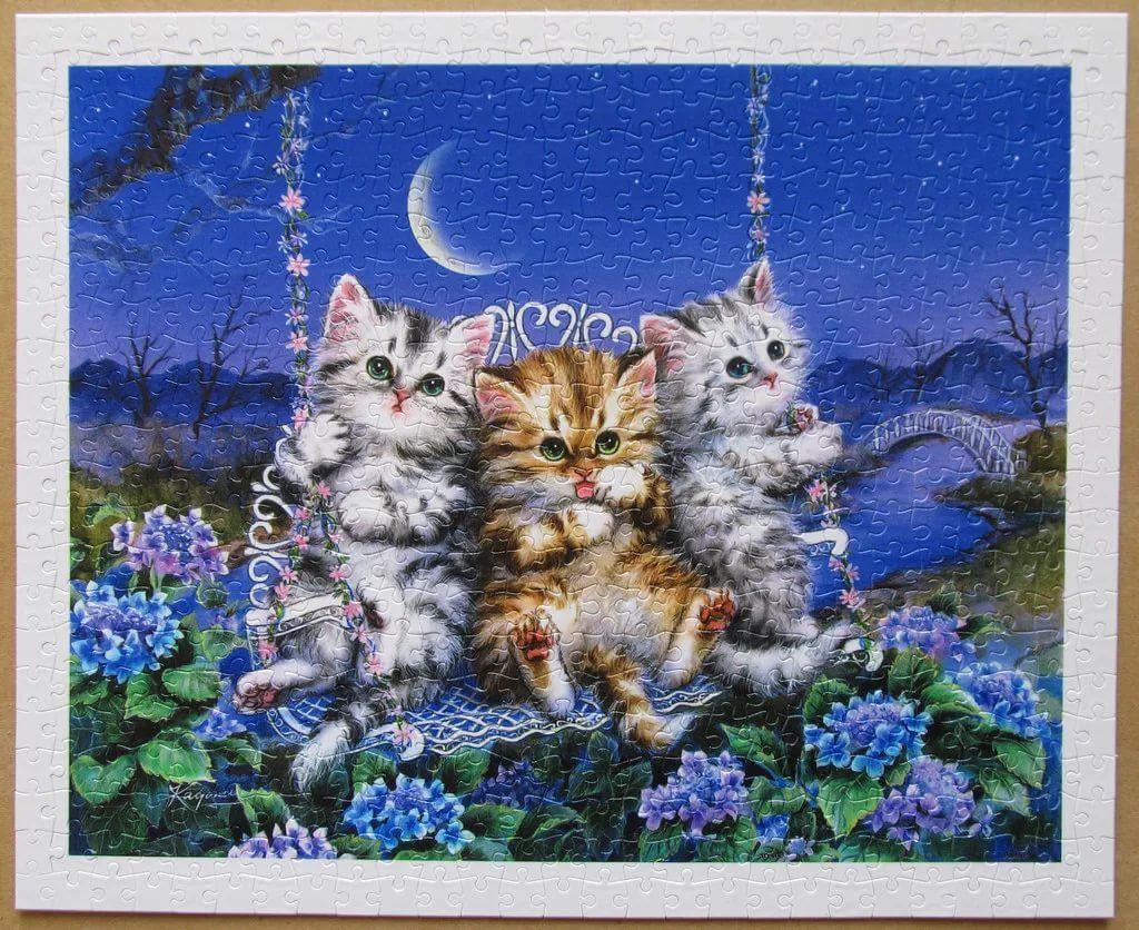 самые красивые мерцающие открытки с котятами клиент
