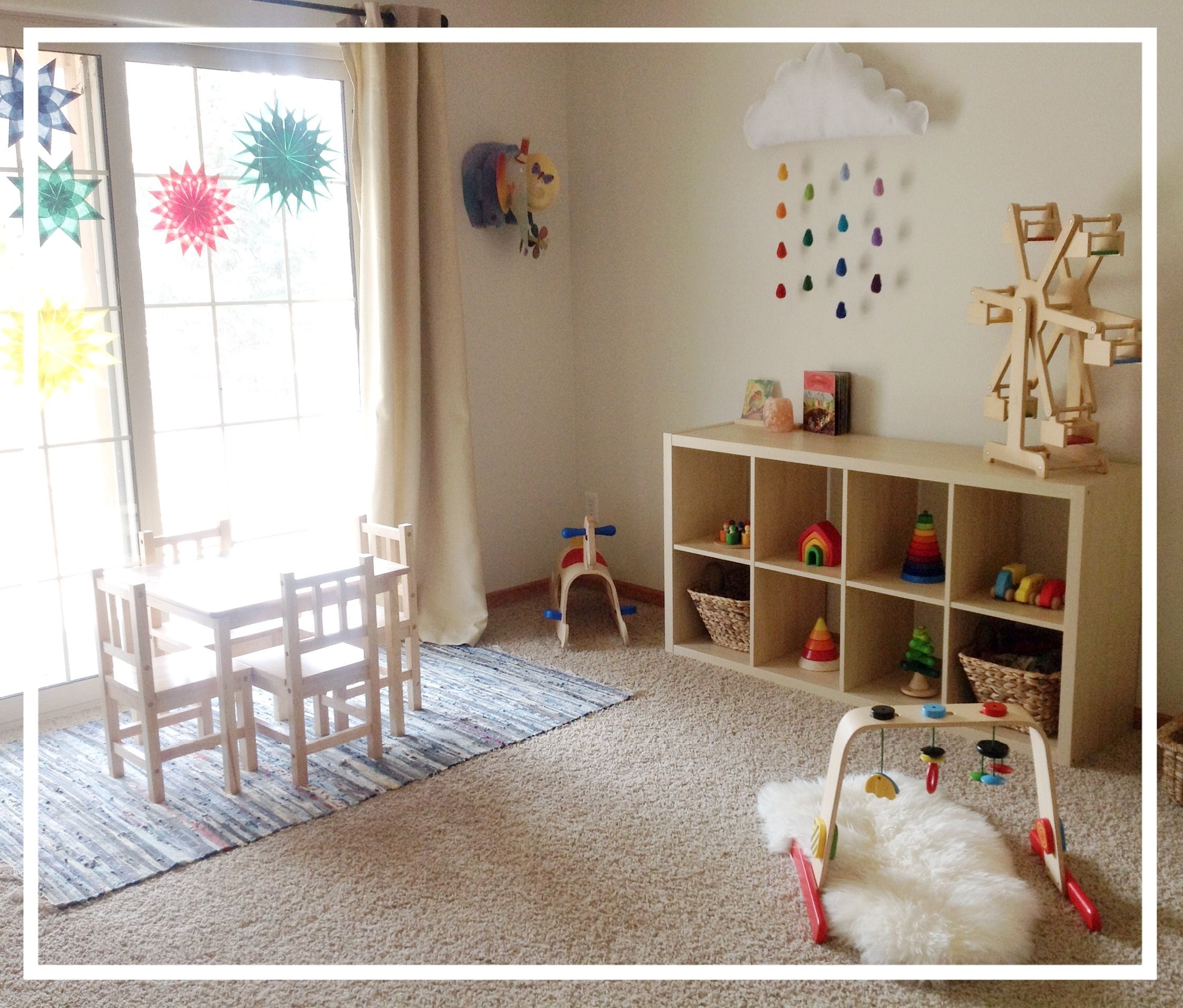 New Baby New Routines Montessori Playroom Waldorf Playroom Playroom