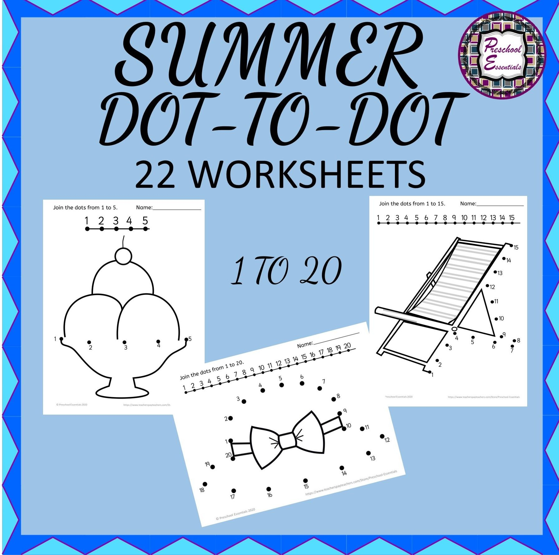 Summer Connect The Dots In
