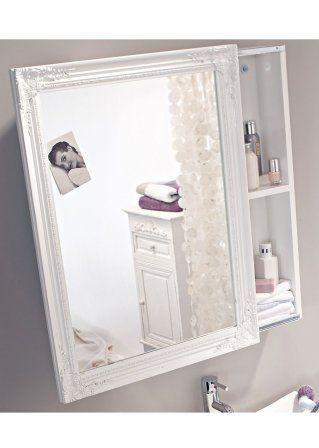 Spiegelschrank weiß wanddeko Pinterest Spiegelschrank
