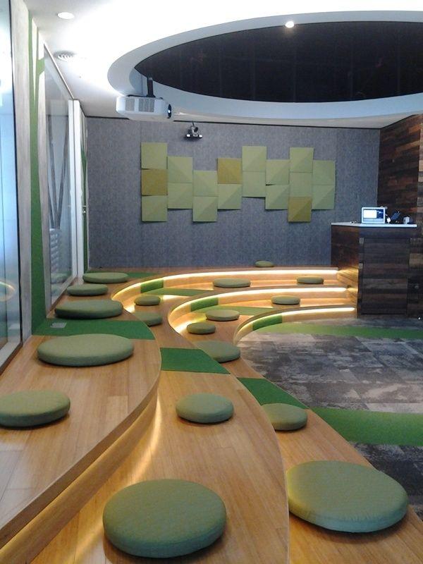 Inside The Google Malaysia Office Interior Design School Office Interior Design Public Space Design