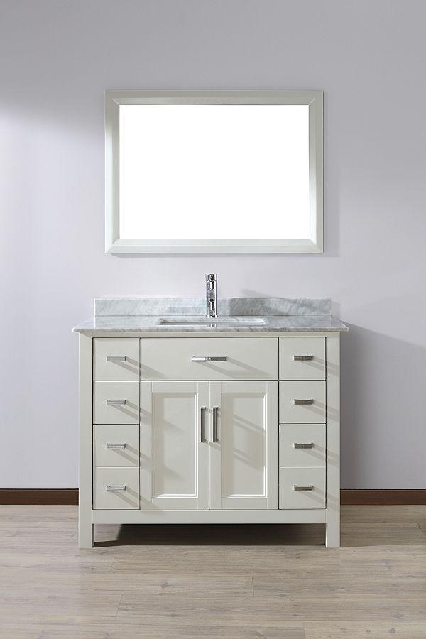 White Bathroom Vanity  Bathroom  Pinterest  White Bathroom Captivating Shop Bathroom Vanities Design Ideas