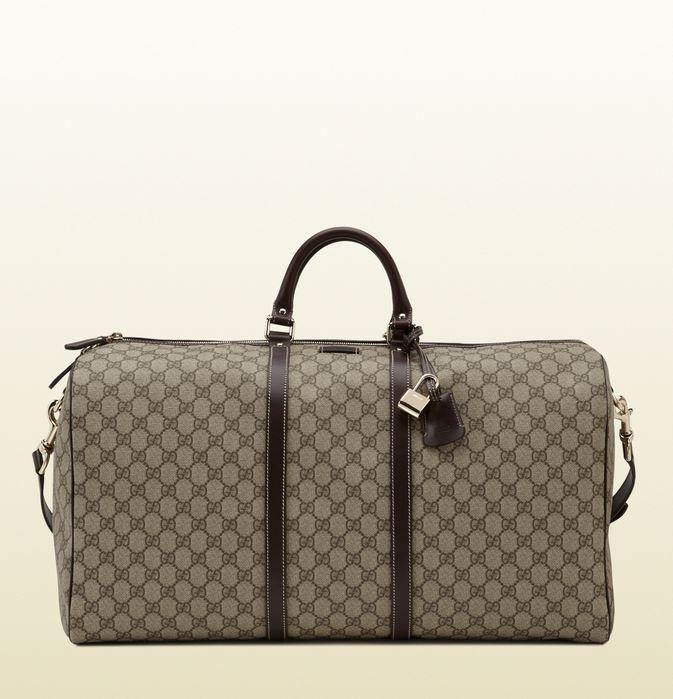 95b59fb8d4 Le più belle Borse da Viaggio Gucci per Uomo e Donna Borse da viaggio Gucci  uomo