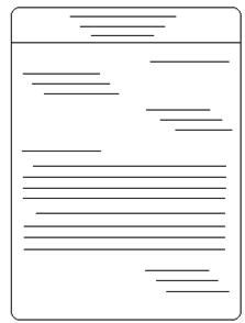 Semi Block Style Business Letter Format The Also Known Full This
