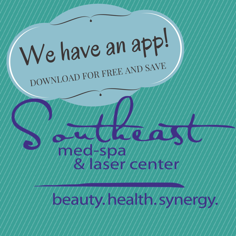 We have an app! DOWNLOAD FOR FREE AND SAVE Med spa