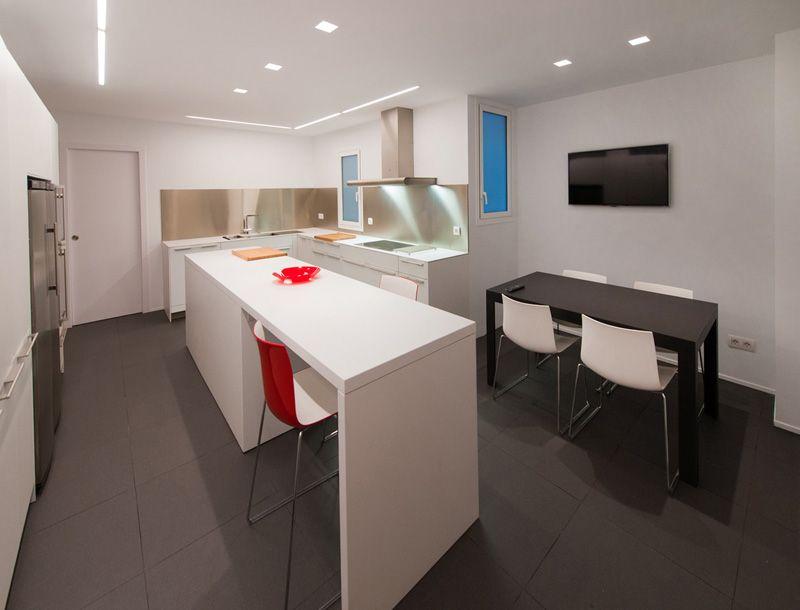 Decoracion #Moderno #Cocina #Sillas #Mesas de centro #Encimeras ...