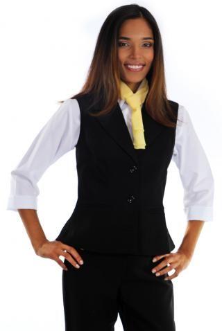 Colete Social Oxford - Uniforme Feminino - Yoshida Hikari - Uniformes  Sociais para Empresas - uniformes sob medida 9b00915840504