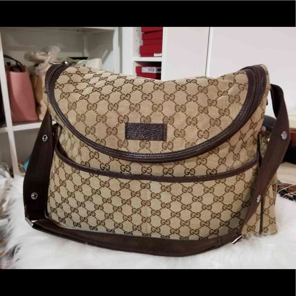 4d2e5656c10 Authentic Gently Used Gucci Diaper Bag