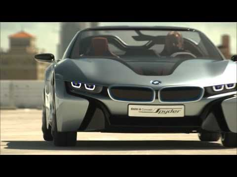 See The Gorgeous Bmw I8 Spyder In Action Video Cars Pinterest
