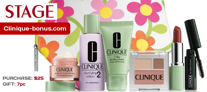 Other stores with Clinique bonus in United States Makeup