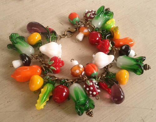 HP Craftalong ~Summer Semester 2013~ Bertie Bott's - Blackberry: Farmer's Market Bracelet