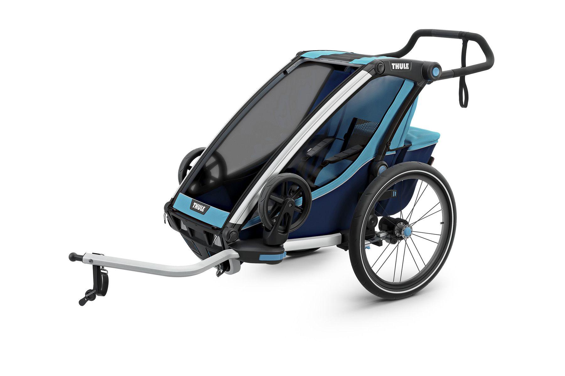 Chariot Cross 2 Bike, Child bike seat, Double strollers