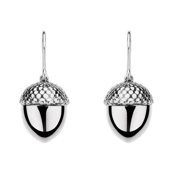 Jewelry Stores Silver Earrings For Girls Acorn Earings STUD Jewellery Online