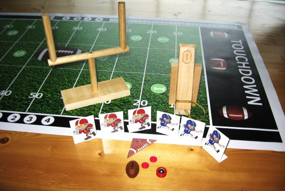 Tabletop Football Or Finger Football Game Taken To A Whole New Level