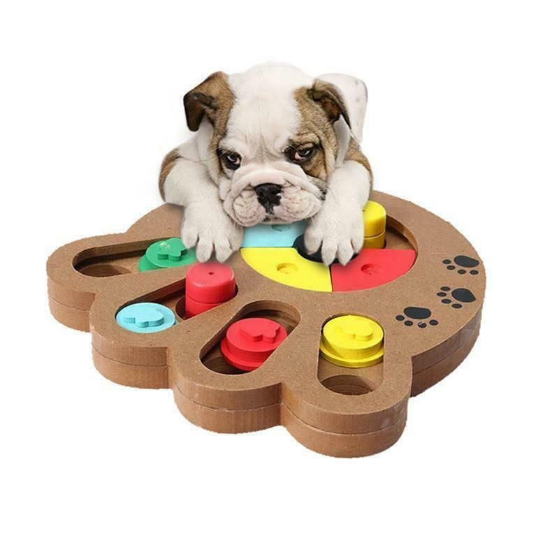 Dog Food Treat Toy Dispensing Boredom Interactive Game Puzzle