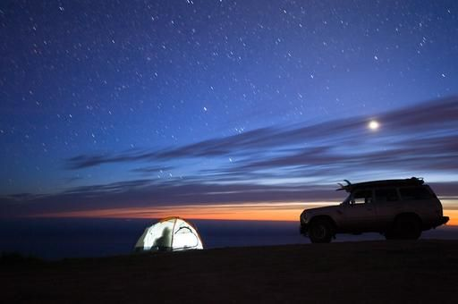 Ambassador Chris Burkard knows how to live the solar life. #adventure #outdoors #camping #surfing