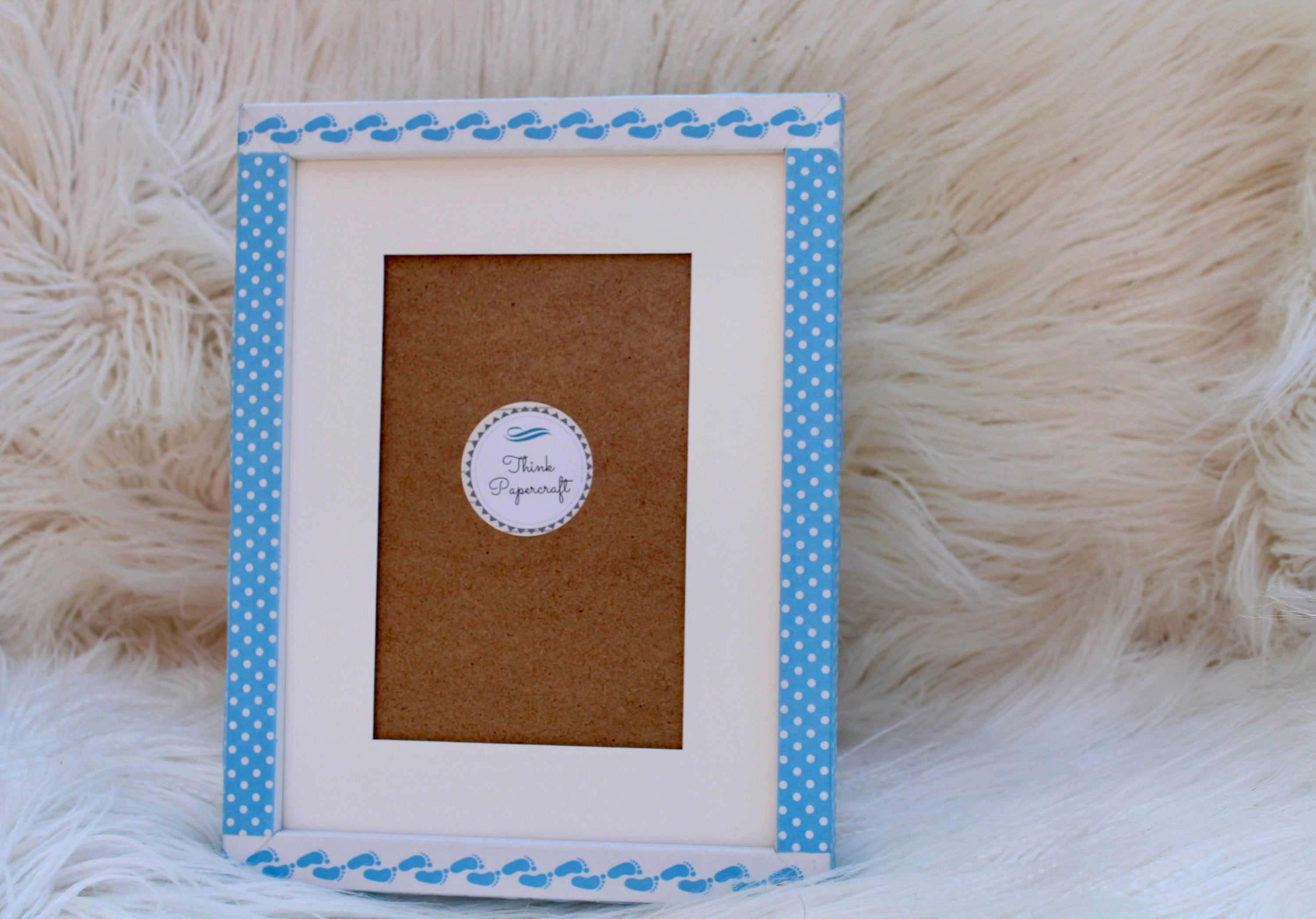 Hello Baby Boy Decorated Photo Picture Frame 4x6 Inches 10x15 Etsy Photo Decor Picture Frames Photo Picture Frames