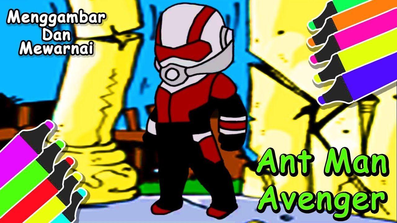 Kecil Ant Man Cara Mudah Gambar Kartun Ant Man Lucu Untuk