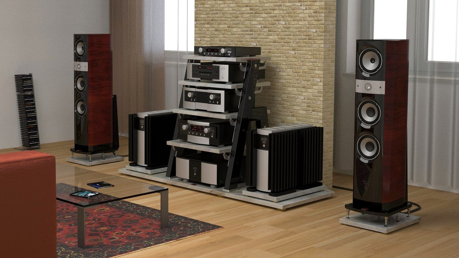 Mono and Stereo High-End Audio JTL Audio STV1, STV2 and STV3 high-end audio rack models audiophile
