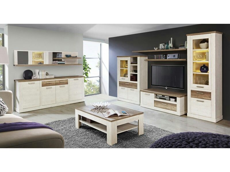 Sal n verona conforama casa en 2019 pinterest for Muebles para tv conforama