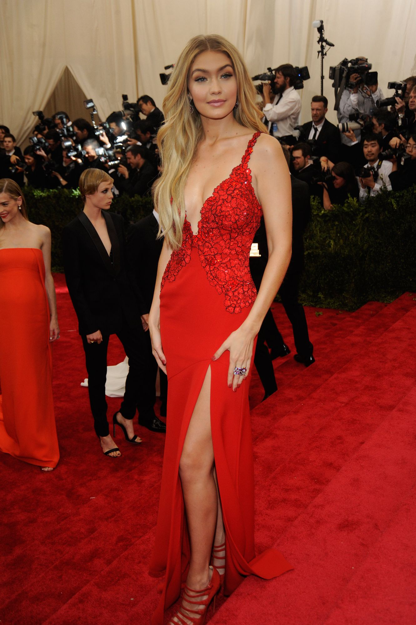 Gigi Hadid - The Best Celebrity Looks From The 2015 Met Gala | W Magazine