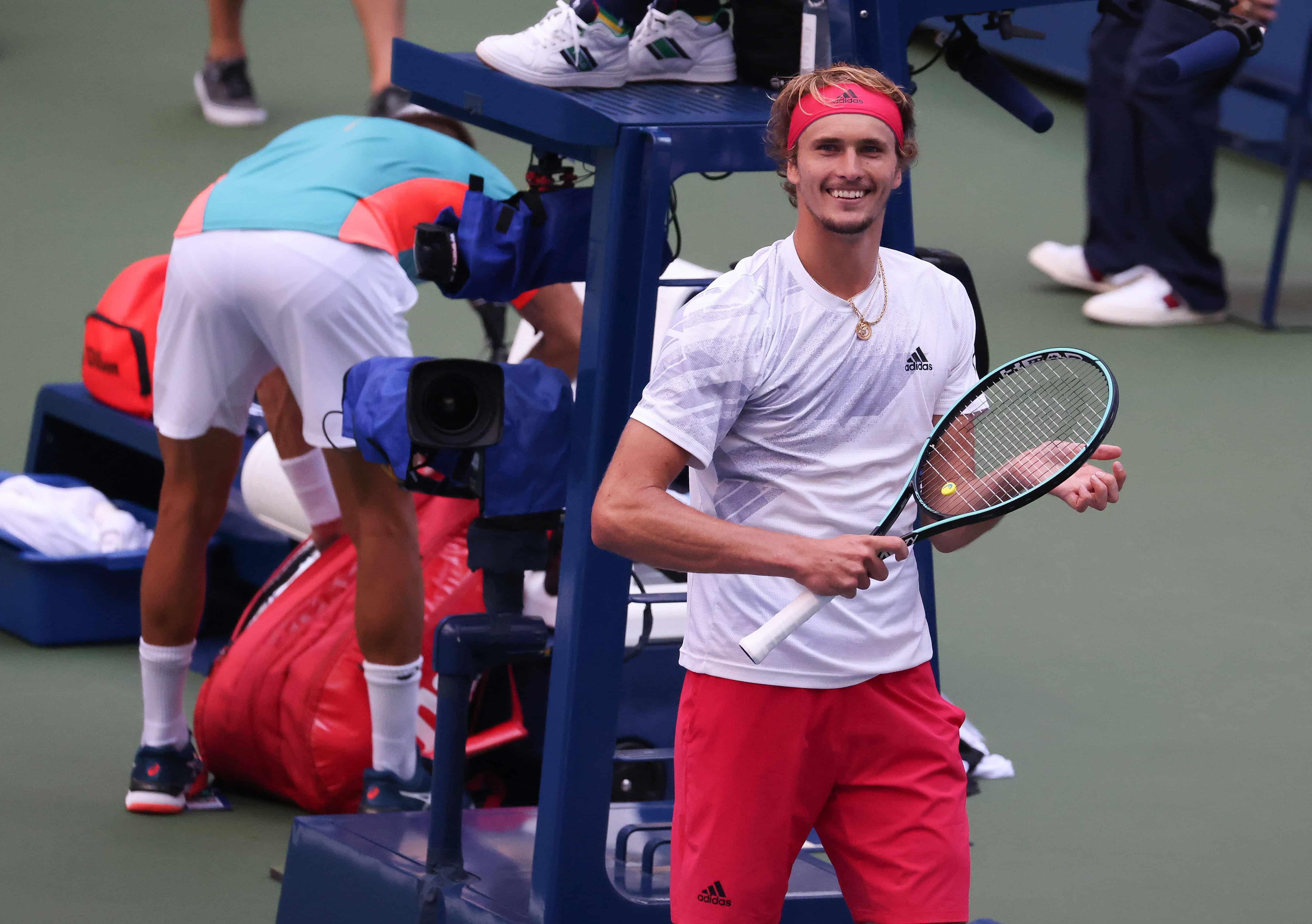 Zverev Gano Y Es El Primer Semifinalista Del Us Open Tyc Sports En 2020 Us Open Croata Novak Djokovic