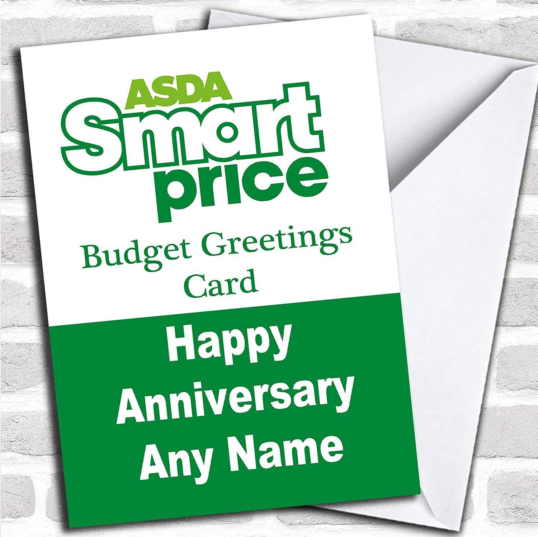 Anniversary Card Asda In 2021 Personalized Anniversary Cards Anniversary Cards Cards